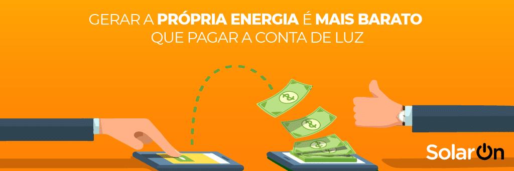 Gerar a própria energia é nais barato que pagar contas de luz? Entenda.