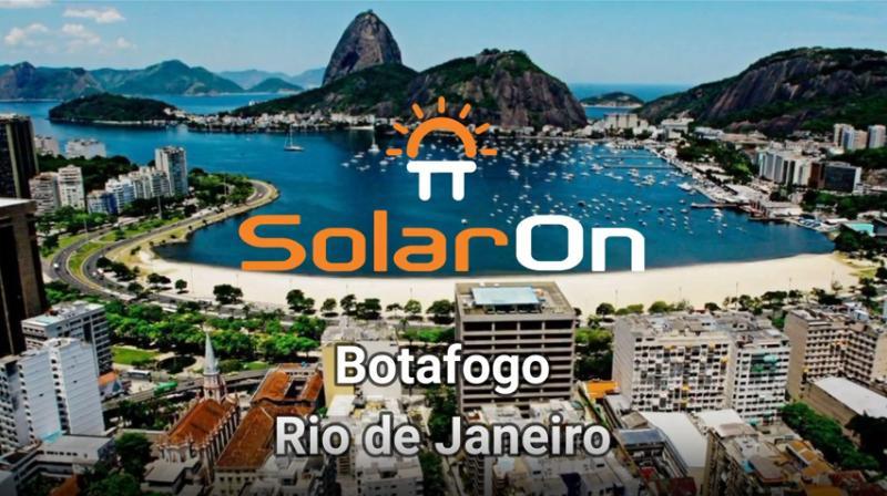 Instalação Painéis Solares - SESI (Lopes Marinho) Botafogo - RJ