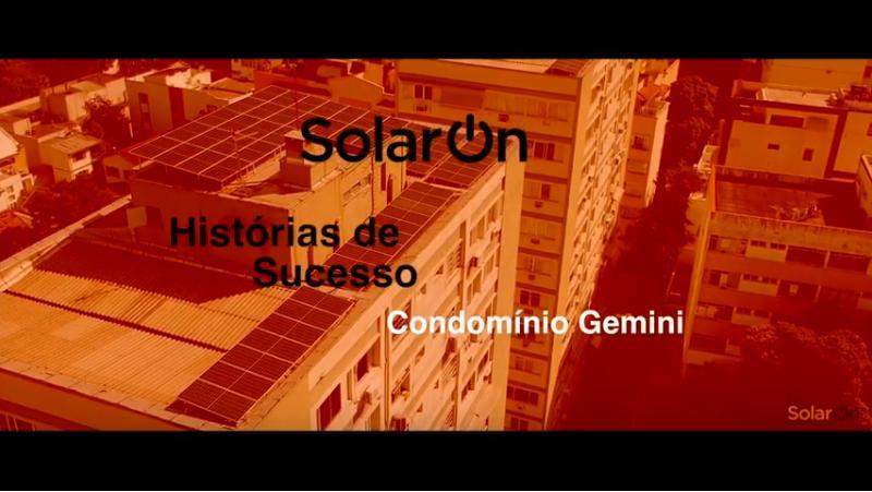 SolarOn Histórias de Sucesso - Condomínio Gemini