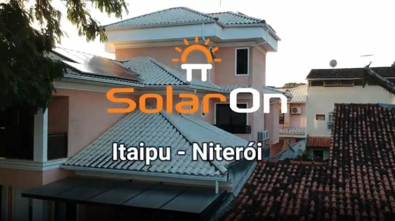 Instalação Painéis Solares - Itaipu - Niterói